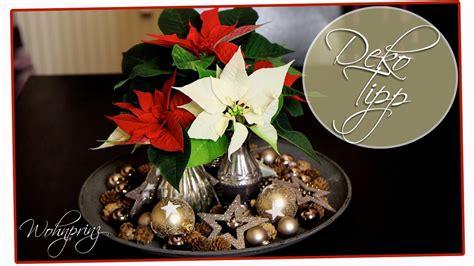 Weihnachtsdeko Für Den Tisch by Weihnachtsdeko Selber Machen F 252 R Den Tisch Einfach