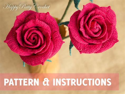 3 Layer Crochet Flower Pattern