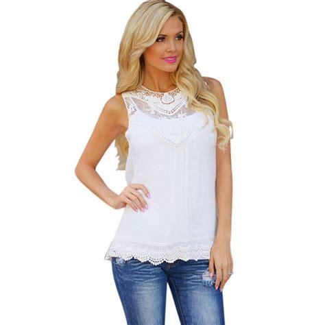 summer blouse jecksion summer blouse 2016 cotton lace blouse