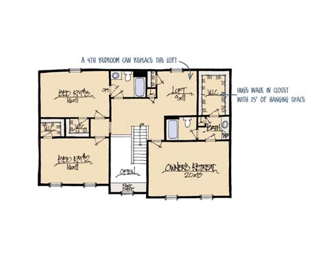 ashley ii a house plan schumacher homes