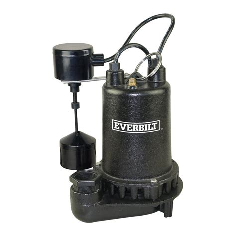 pre plumbed sink tray system sump pump everbilt 0 25 hp pre plumbed sink tray system sump pump