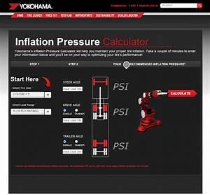 Yokohama Launches New Online Tire Pressure Calculator