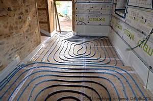 Pompe à Chaleur Plancher Chauffant Prix : le plancher chauffant basse temp rature dans la maison ~ Premium-room.com Idées de Décoration