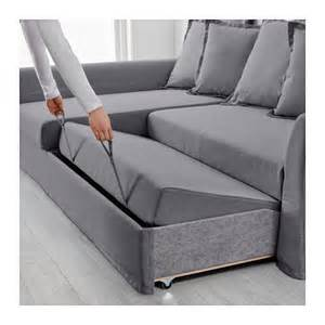 holmsund corner sofa bed nordvalla medium grey ikea