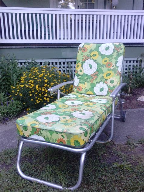 chaises retro hold vintage mid century aluminum chaise lounge by
