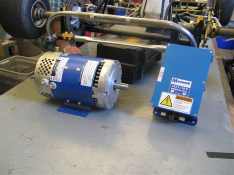 Electric Kart Motor by D D Motor Systems High Speed High Torque Electric
