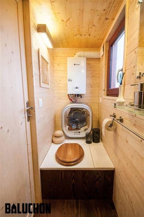 ondine tiny house  wheels  baluchon