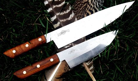 how to make kitchen knives how to make handles for the hock kitchen knives custom