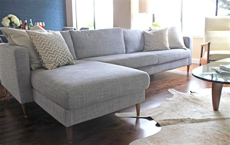 Karlstad Sofa New Legs by And Husband Decorated Living Room With
