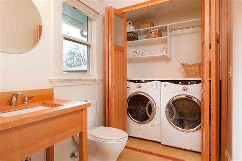 Laundry & Bathroom Combining Ideas With Photos