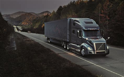 wallpapers volvo vnl   trucks darkness