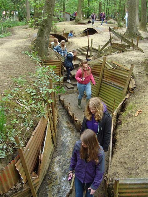 farlington school pupils visit ww battlefields