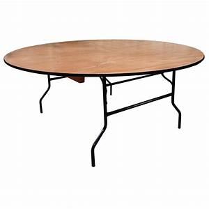Table Pliante Ronde : table pliante ronde traiteur dia 152cm 8 personnes table pliante table pliante bois ~ Teatrodelosmanantiales.com Idées de Décoration