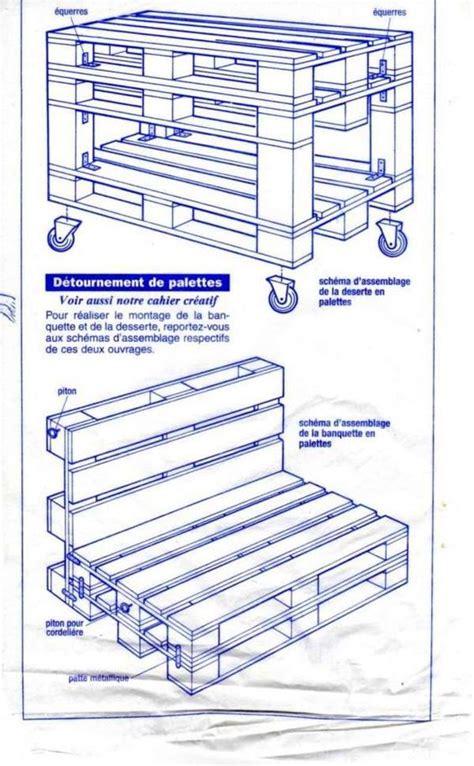 plans pour confectionner des meubles pour jardin avec des