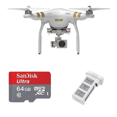 dji phantom  professional quadcopter  battery   gb sandisk card dji phanto parrot