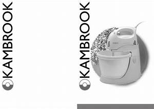 Kambrook Music Mixer Ksm25 User Guide