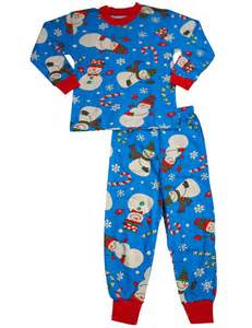 39 s prints baby boys sleeve snowman pajamas blue infant boys sleepwear pajamas