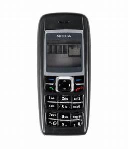 Koloredge Full Housing For Nokia 1600 - Black