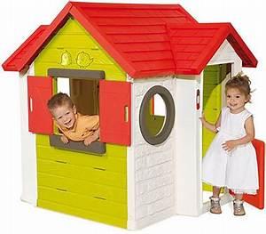 Cabane Enfant Plastique : cabane pour enfant maisonnette en bois pvc smoby soulet ~ Preciouscoupons.com Idées de Décoration