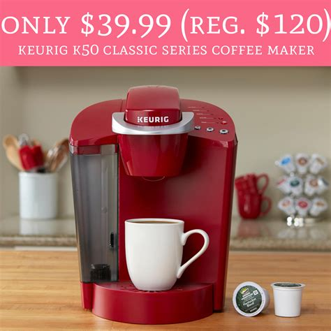 Classic keurig coffee maker is the best coffee brewer in the world. Only $39.99 (Regular $120) Keurig K50 Classic Series Coffee Maker - Deal Hunting Babe