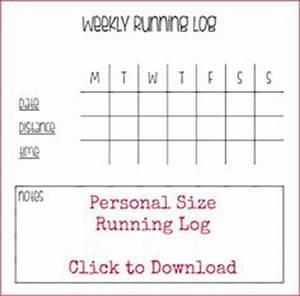 free printable walking log pdf from vertex42 com fitness journal