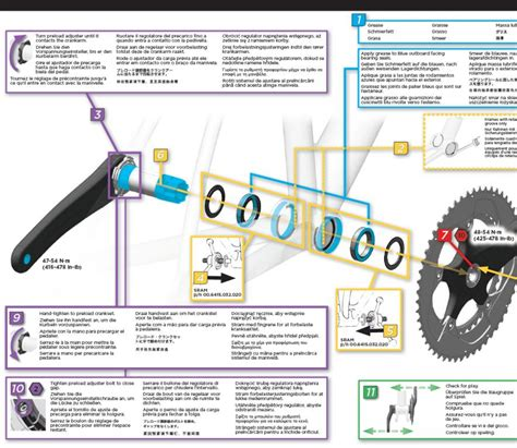 crankset side loading adjustment for sram 2012 bb30