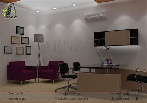 Marketing Director Office Design  Aenzay Interiors