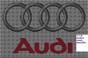 Pixel Art Voiture De Sport : logo audi en grille gratuite cross stitch apraz desen cross stitch cross stitching ve ~ Maxctalentgroup.com Avis de Voitures
