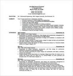sle resume for internship pdf to excel sle resume for hvac tech hvac resume templates doc 10801502 hvac resume templates com good