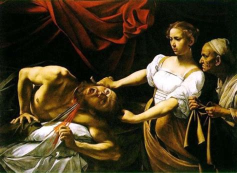 Judith In The Bible Famous Paintings Of The Murder Of Holofernes