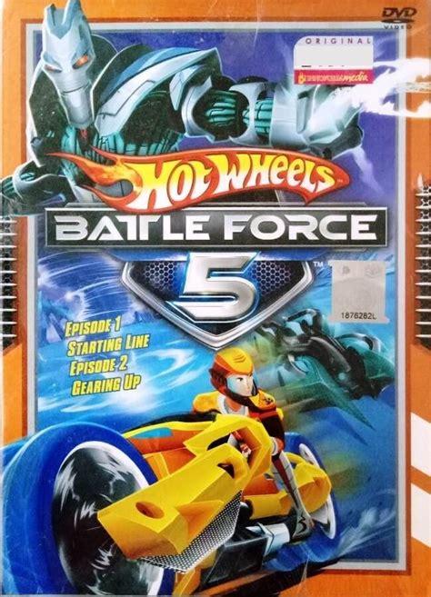 dvd hot wheels battle force 5 vol 1 and 2 anime region all english version english sub