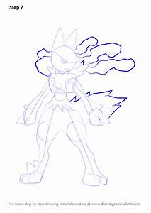 Pokemon Lucario Drawing Images | Pokemon Images