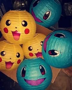 diy pokemon lanterns