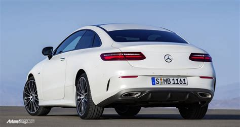 Gambar Mobil Mercedes E Class by Mercedes E Class Coupe 2017 Rear Autonetmagz