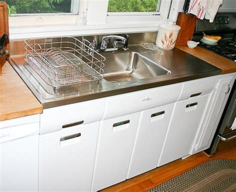 kitchen sinks with drainboards joe replaces a vintage porcelain drainboard kitchen sink