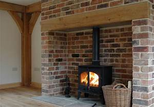 From little acorns january 2011 for Open brick fireplace ideas
