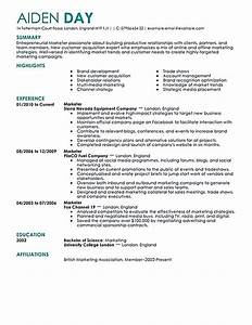 marketing resume will be all about on how a person can With where can i have a resume made