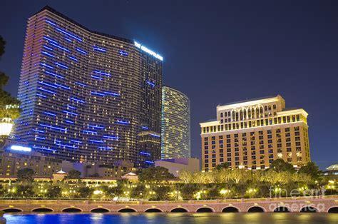 The Cosmopolitan And Vdara Hotel As Seen From Las Vegas