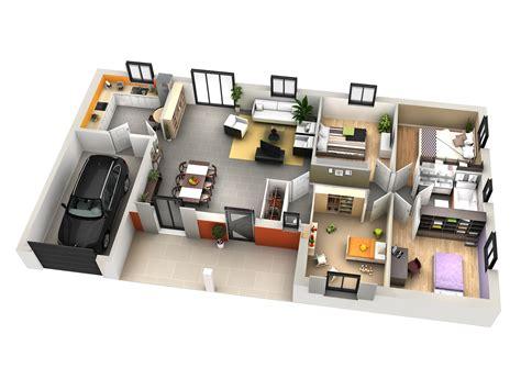 chambre maison plan maison moderne 4 chambres maison moderne