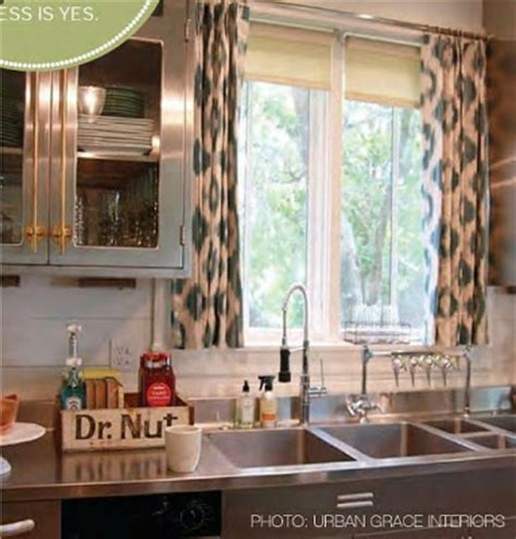 decorating cents kitchen window treatment options