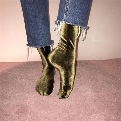 wild knottings velvet socks inattendu