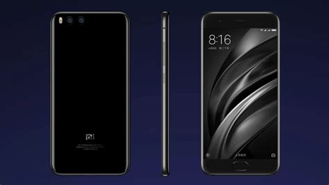 Xiaomi Mi 6 With 6gb Ram, Dual Rear Cameras Launched