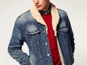 Veste En Jean Doublée Mouton Femme : veste jean mouton homme ~ Melissatoandfro.com Idées de Décoration