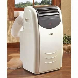 Soleus Air 14 000 Btu Portable Air Conditioner  Factory Refurbished