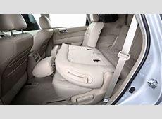 2013 NISSAN Pathfinder Folding Rear Seats YouTube