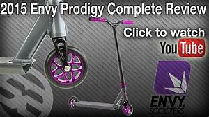 2015 Envy Prodigy Review with Nick Darger - YouTube