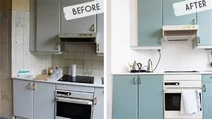 Relooker Meuble Cuisine : relooker ses meubles de cuisine avec un petit budget ~ Mglfilm.com Idées de Décoration