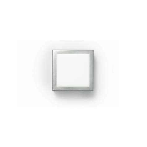 zaneen modern flat q flush mount wall sconce in brushed