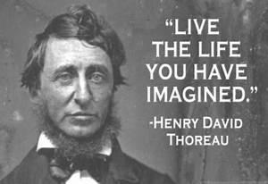 Simplify, Simpl... Thoreau Book Quotes