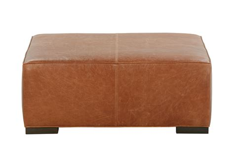 Ottoman Leather by Leather Cocktail Ottomans Ottomans Benches